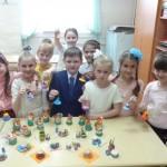 учащиеся 1 класса, преподаватель Коренева Лилия Владимировна