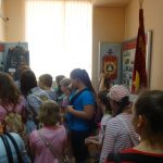 в зале музея Славы МВД