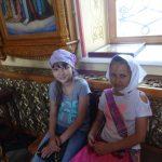 маленькие художники на экскурсии в соборе