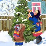 Николайчук 12 новогодняя елка